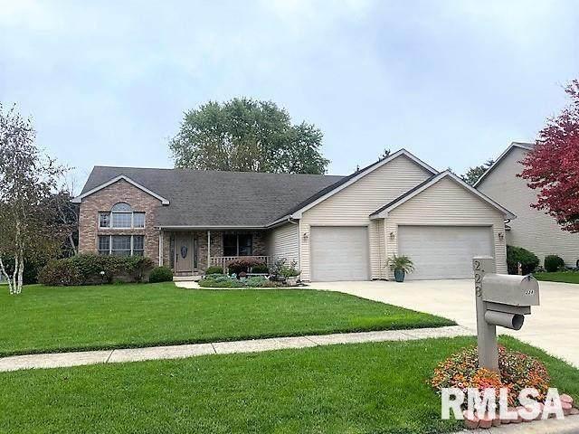 228 Manor Hill Drive, Chatham, IL 62629 (#CA1010802) :: Paramount Homes QC