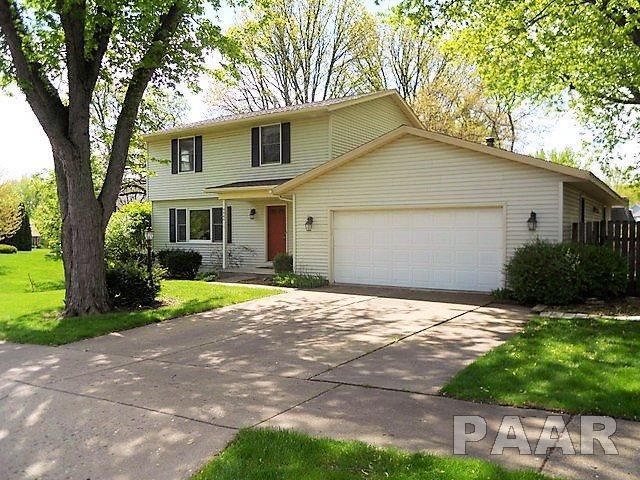 4444 W Bridalwood Drive, Peoria, IL 61615 (#PA1199684) :: The Bryson Smith Team