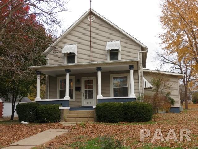 115 N Elmwood Road, Farmington, IL 61531 (#PA1203654) :: Adam Merrick Real Estate