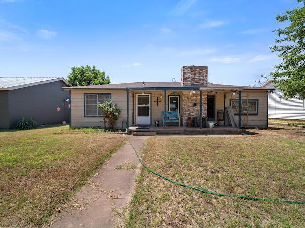 1419 Oak St, Colorado City, TX 79512 (MLS #50041167) :: Rafter Cross Realty