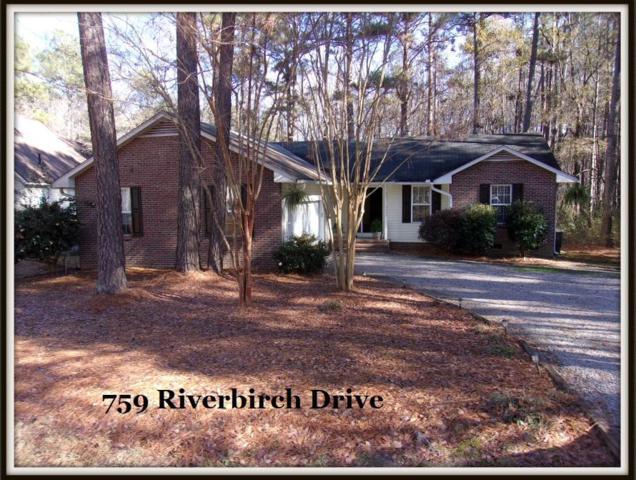 759 Riverbirch Drive, Vass, NC 28394 (MLS #185574) :: Weichert, Realtors - Town & Country