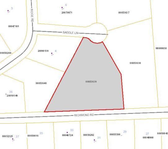 Tbd Richmond Rd, Foxfire, NC 27281 (MLS #185621) :: Weichert, Realtors - Town & Country