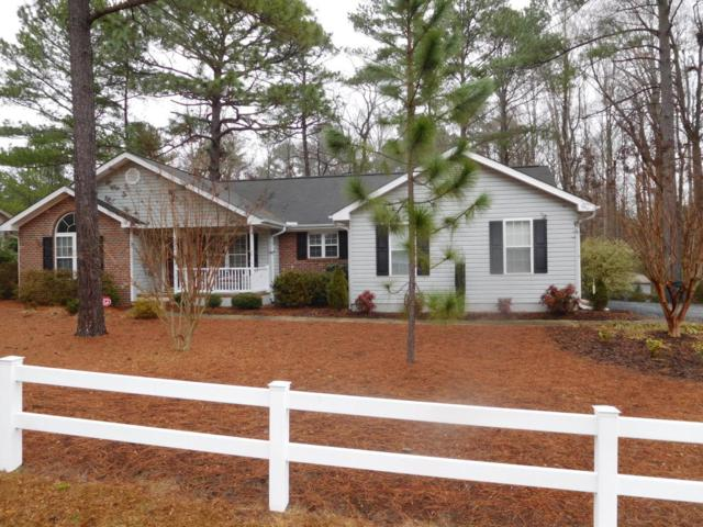 126 Foxcroft Road, Whispering Pines, NC 28327 (MLS #186683) :: Weichert, Realtors - Town & Country