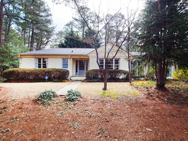 495 S May Street, Southern Pines, NC 28387 (MLS #186737) :: Weichert, Realtors - Town & Country