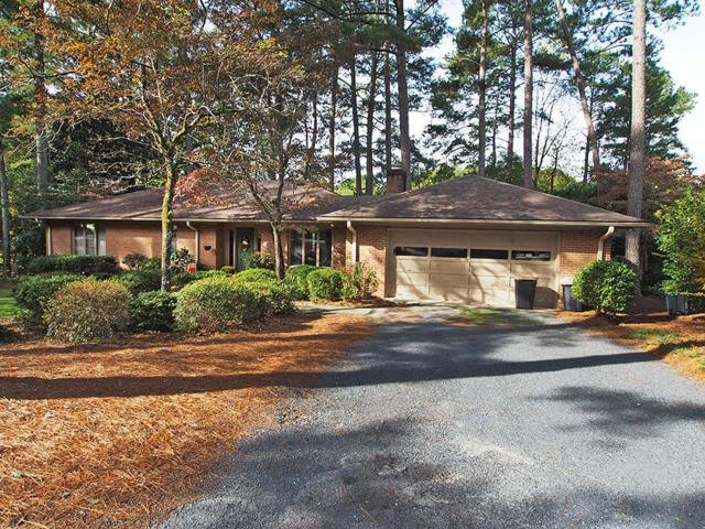 48 Sunset Drive, Whispering Pines, NC 28327 (MLS #191219) :: Weichert, Realtors - Town & Country