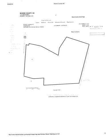 851 S Mcneill Street 15.7Ac, Carthage, NC 28327 (MLS #195498) :: Pinnock Real Estate & Relocation Services, Inc.