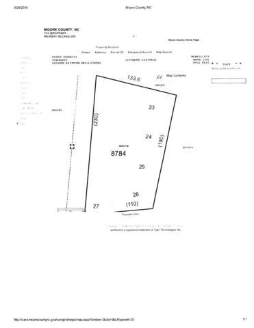 Tbd S Mcneill Street 0.58 Ac, Carthage, NC 28327 (MLS #195500) :: Pinnock Real Estate & Relocation Services, Inc.