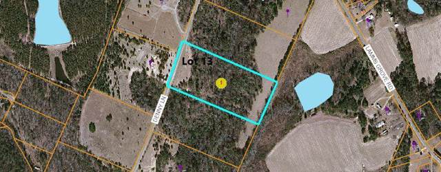 Tbd Denny Lane Lot 13, Carthage, NC 28327 (MLS #197443) :: Pinnock Real Estate & Relocation Services, Inc.