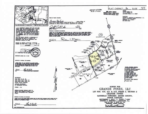 135 E Vista Ridge, Foxfire, NC 27281 (MLS #198659) :: Pines Sotheby's International Realty