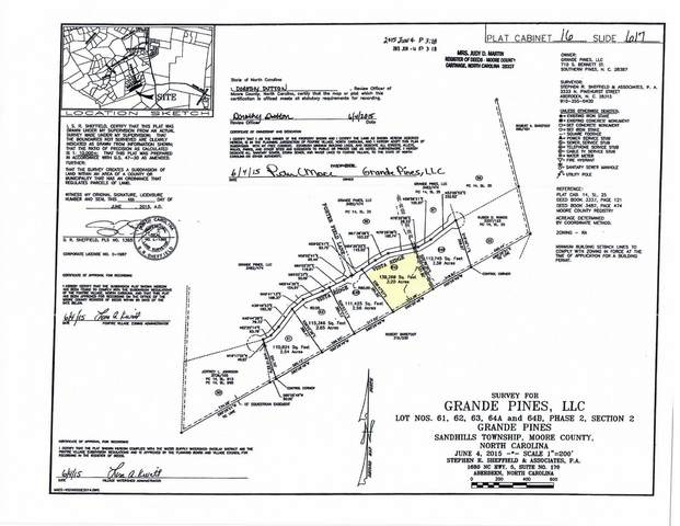 134 E Vista Ridge, Foxfire, NC 27281 (MLS #198660) :: Pines Sotheby's International Realty