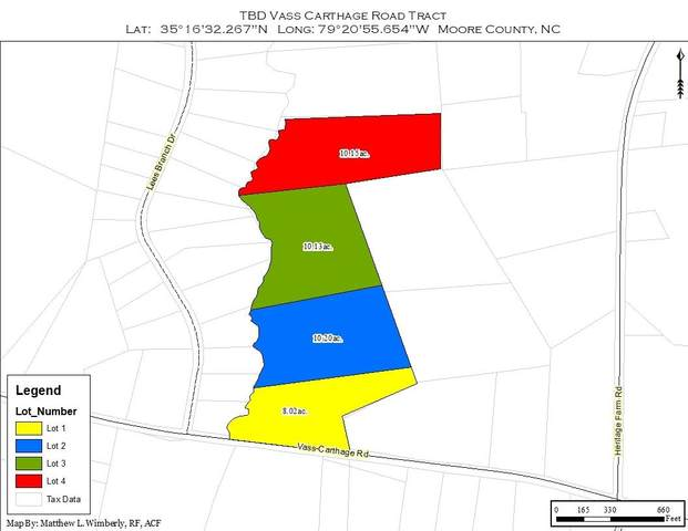 Tbd Vass Carthage Lot2 Road, Carthage, NC 28327 (MLS #198759) :: Pinnock Real Estate & Relocation Services, Inc.