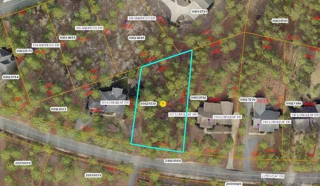 337 Longleaf Drive, West End, NC 27376 (MLS #202330) :: Towering Pines Real Estate