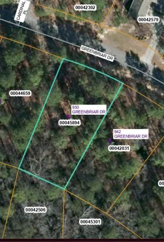 930 Greenbriar Drive, Vass, NC 28394 (MLS #204144) :: Pinnock Real Estate & Relocation Services, Inc.