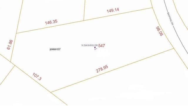 16 Banning Drive, Whispering Pines, NC 28327 (MLS #204992) :: Towering Pines Real Estate