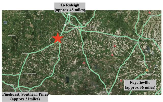 438 White Hill Road, Sanford, NC 27332 (MLS #205114) :: Towering Pines Real Estate