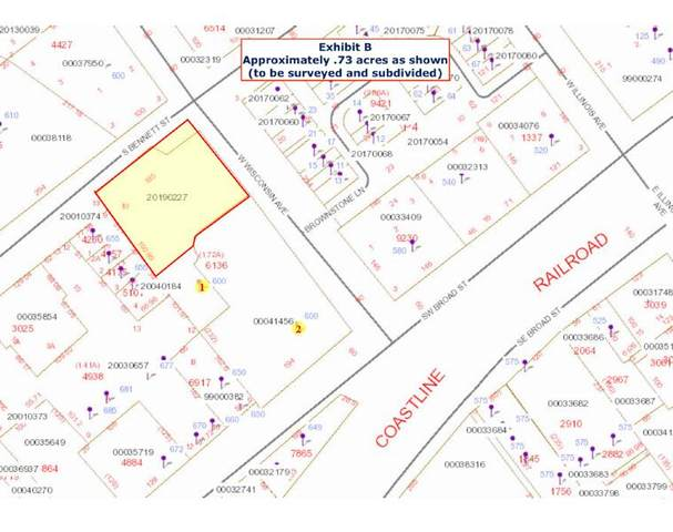 Tbd W Wisconsin Avenue, Southern Pines, NC 28387 (MLS #205383) :: Pines Sotheby's International Realty