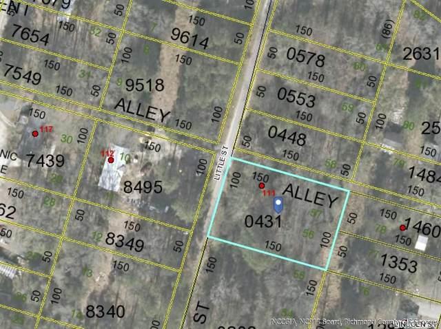 Tbd Little Street, Rockingham, NC 28379 (MLS #205552) :: Towering Pines Real Estate