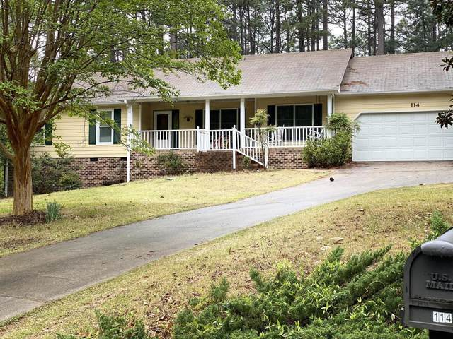 114 Cliff Court, Southern Pines, NC 28387 (MLS #205657) :: Towering Pines Real Estate