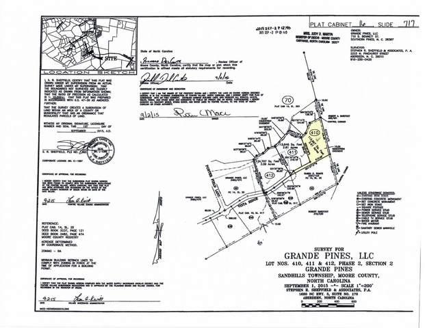 195 E Vista Ridge, Jackson Springs, NC 27281 (MLS #206130) :: EXIT Realty Preferred