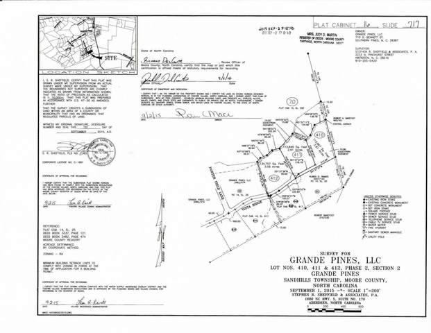 185 E Vista Ridge, Jackson Springs, NC 27281 (MLS #206131) :: EXIT Realty Preferred