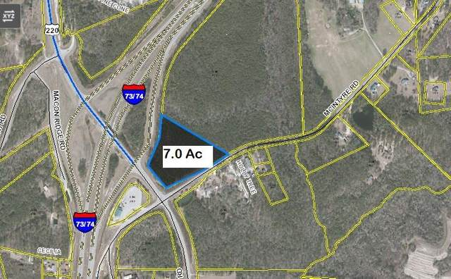 Tbd I 73/74 Corridor, Ellerbe, NC 28338 (MLS #207177) :: Pines Sotheby's International Realty