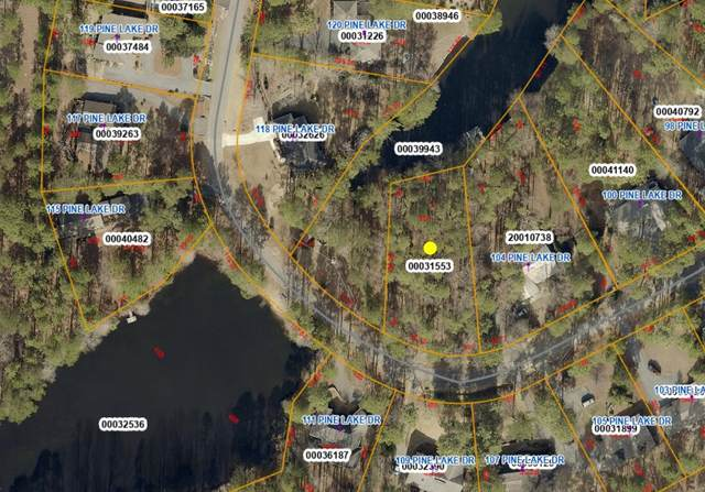 108 Pine Lake Drive, Whispering Pines, NC 28327 (MLS #207868) :: Pinnock Real Estate & Relocation Services, Inc.