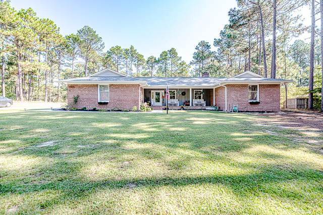 195 Warrior Woods Road, Whispering Pines, NC 28327 (MLS #208251) :: Pines Sotheby's International Realty