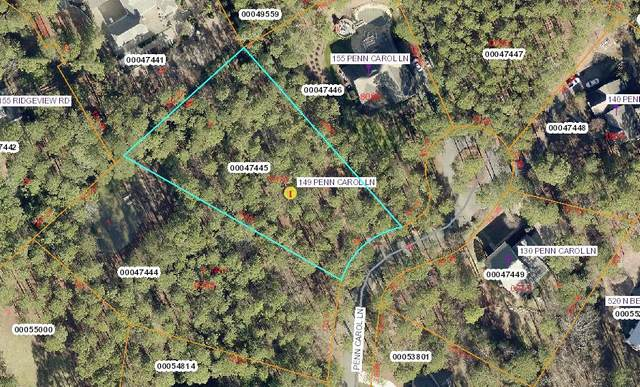 149 Penn Carol Lane, Southern Pines, NC 28387 (MLS #198908) :: Pinnock Real Estate & Relocation Services, Inc.