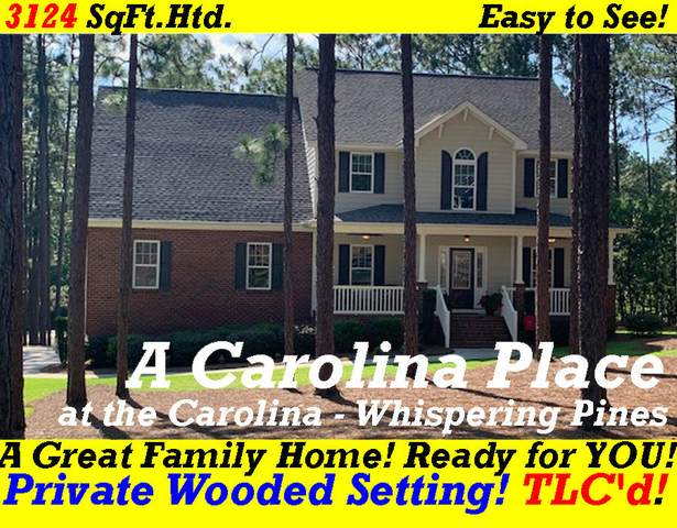 214 Woodbine Way, Whispering Pines, NC 28327 (MLS #201274) :: Pinnock Real Estate & Relocation Services, Inc.