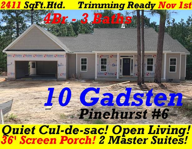 10 Gadsten Court, Pinehurst, NC 28374 (MLS #207796) :: Pinnock Real Estate & Relocation Services, Inc.