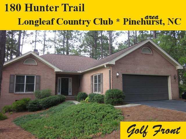 180 Hunter Trail, Southern Pines, NC 28387 (MLS #182681) :: Pinnock Real Estate & Relocation Services, Inc.