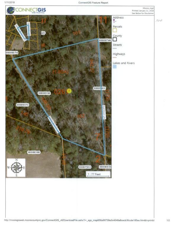 Lot 162 Breezeway Lane, Carthage, NC 28327 (MLS #185943) :: Weichert, Realtors - Town & Country