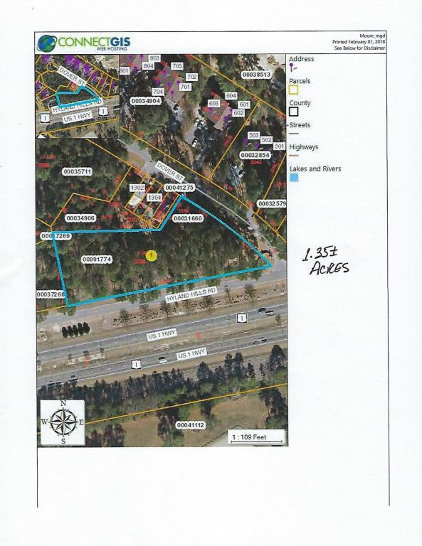 Tbd Dover St, Southern Pines, NC 28387 (MLS #186357) :: Weichert, Realtors - Town & Country