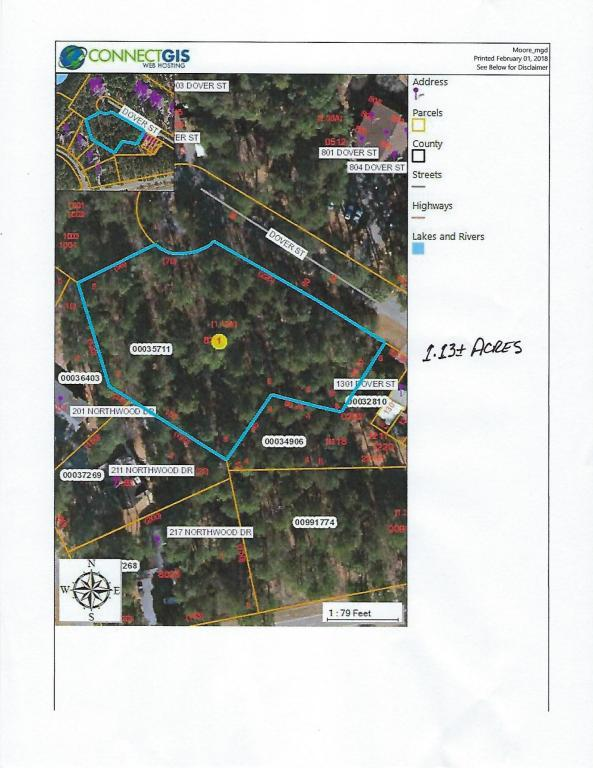 Tbd 2 Dover St, Southern Pines, NC 28387 (MLS #186358) :: Weichert, Realtors - Town & Country