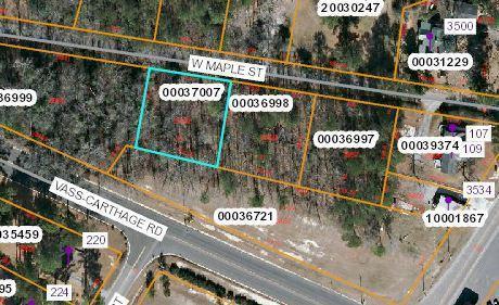 Lot 20 W Maple Street, Vass, NC 28394 (MLS #189352) :: Pinnock Real Estate & Relocation Services, Inc.