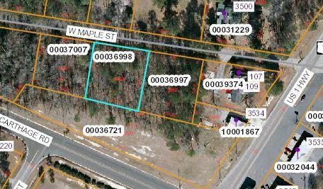 Lot 21 W Maple Street, Vass, NC 28394 (MLS #189355) :: Pinnock Real Estate & Relocation Services, Inc.
