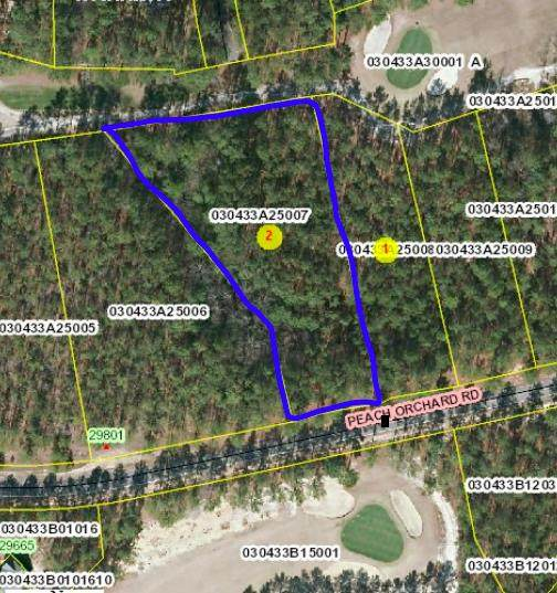Lot 7 Peach Orchard Road, Wagram, NC 28396 (MLS #208083) :: Pinnock Real Estate & Relocation Services, Inc.