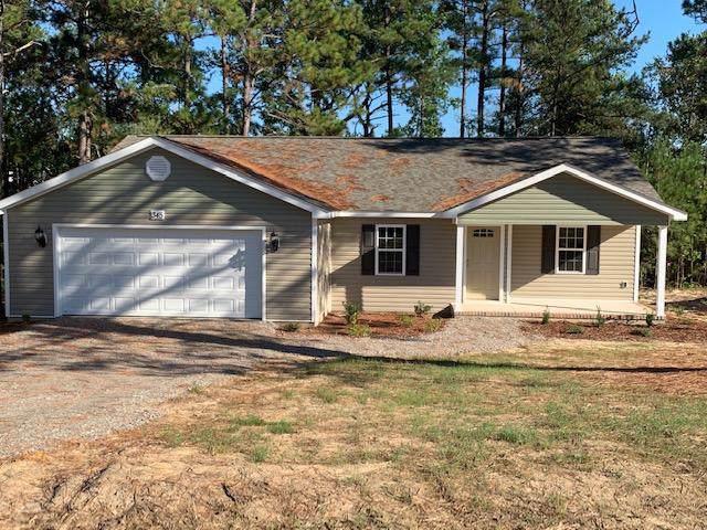 345 Pickett Circle, Vass, NC 28394 (MLS #194330) :: Pinnock Real Estate & Relocation Services, Inc.