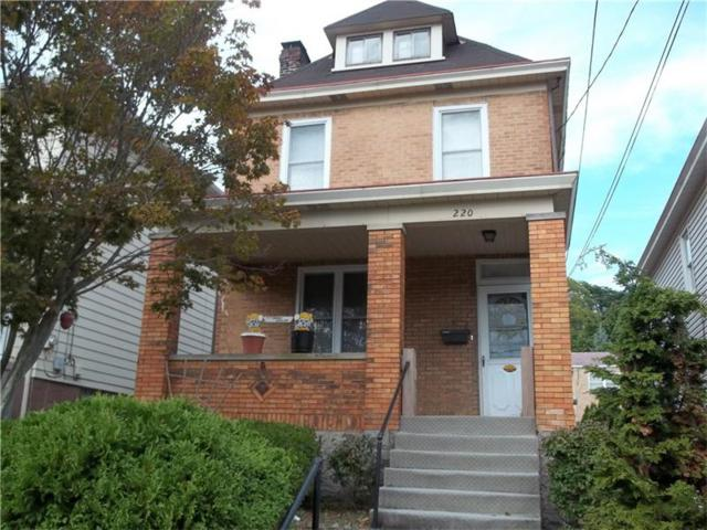 220 Park Ave, West View, PA 15229 (MLS #1298365) :: Keller Williams Realty