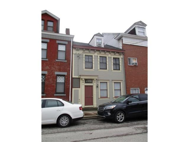 2002 Sarah Street, South Side, PA 15203 (MLS #1323153) :: Keller Williams Realty