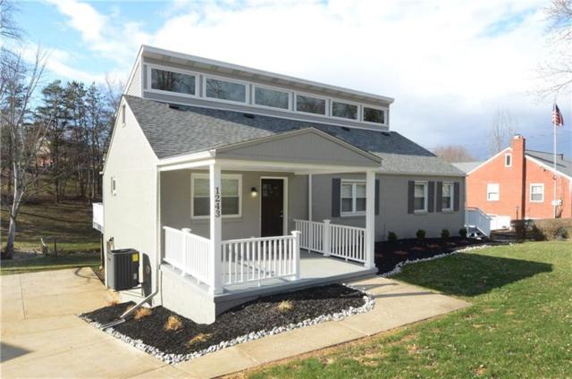 1243 Silver Lane, Robinson Twp - Nwa, PA 15136 (MLS #1326458) :: Keller Williams Pittsburgh