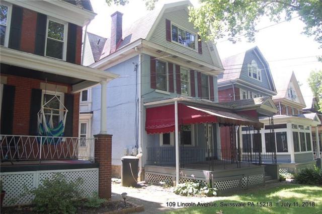 109 Lincoln Avenue, Edgewood, PA 15218 (MLS #1355108) :: Keller Williams Realty