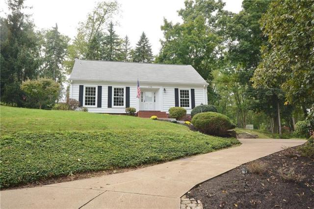 179 E Highland Drive, Peters Twp, PA 15317 (MLS #1359940) :: Broadview Realty