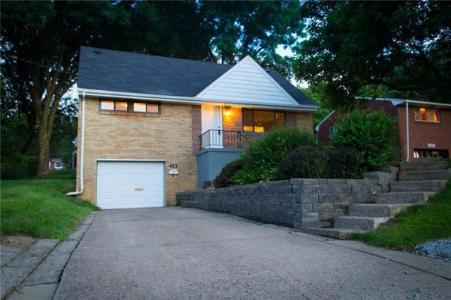 423 Woodrift, Pleasant Hills, PA 15236 (MLS #1361044) :: Keller Williams Pittsburgh