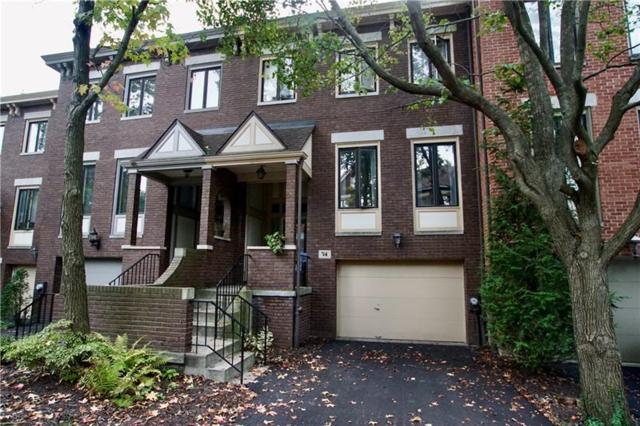 100 Denniston Street #74, Shadyside, PA 15206 (MLS #1364800) :: Keller Williams Pittsburgh