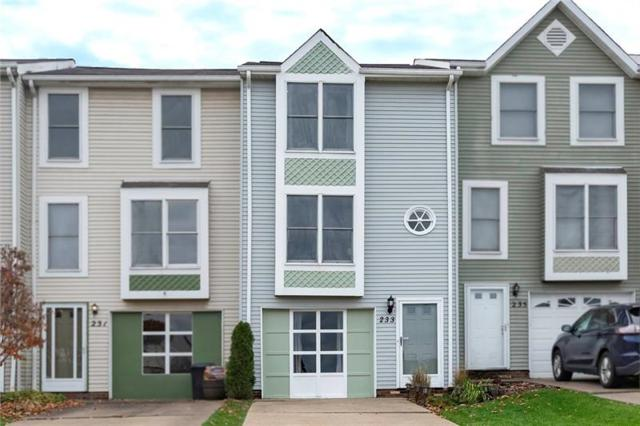 233 Hawthorne Drive, North Fayette, PA 15071 (MLS #1369945) :: Keller Williams Pittsburgh