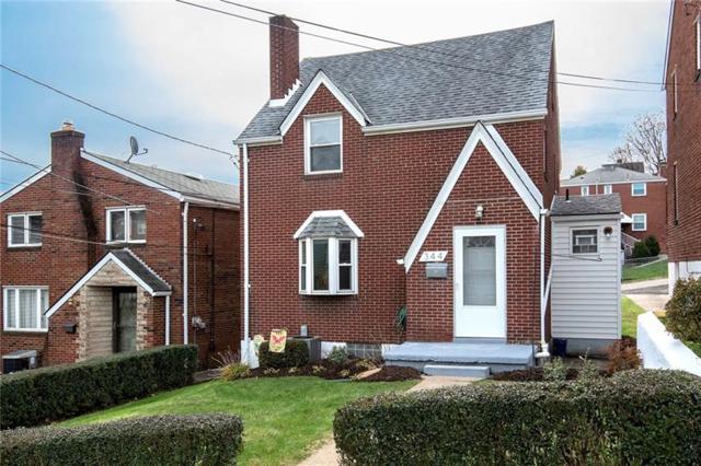 344 Mayville Avenue, Brookline, PA 15226 (MLS #1370292) :: Keller Williams Pittsburgh