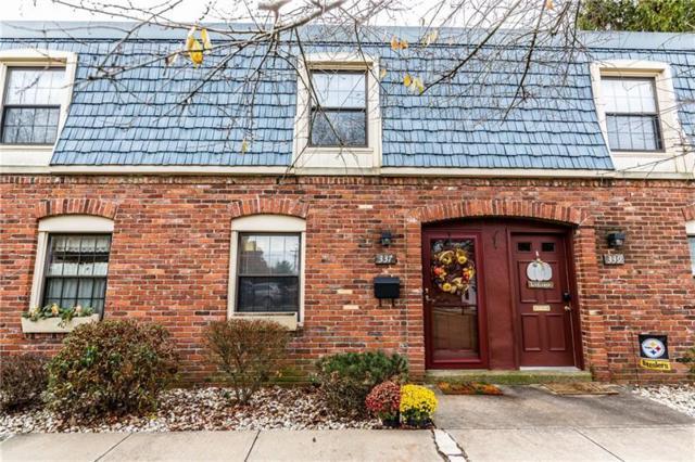 337 Pennsview Ct, Pennsbury, PA 15205 (MLS #1370649) :: Keller Williams Realty