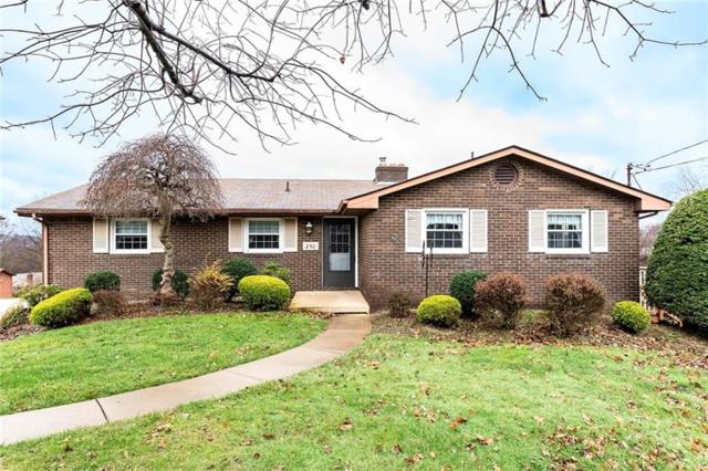 250 Shafer Road, Moon/Crescent Twp, PA 15108 (MLS #1372425) :: Broadview Realty