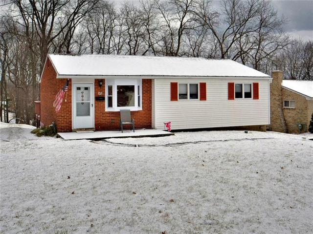 721 Pettigrew Rd, North Huntingdon, PA 15642 (MLS #1380865) :: Keller Williams Realty